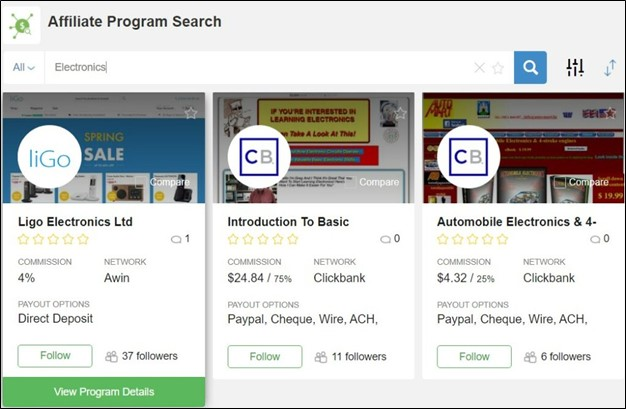 2021 Wealthy Affiliate Review - Updated Affiliate Program Search Results