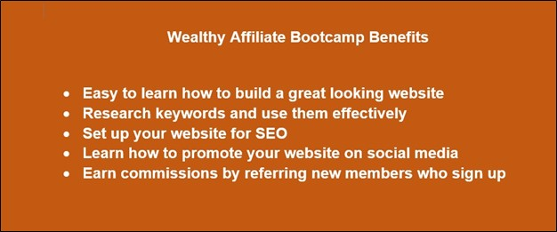 2021 Wealthy Affiliate Review - Updated Affiliate Bootcamp Benefits List