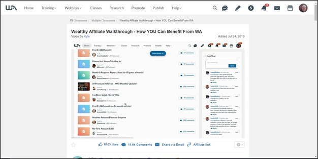 2021 Wealthy Affiliate Review - Updated Walkthrough Video