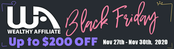 Learn About Affiliate Marketing Black Friday Special Banner